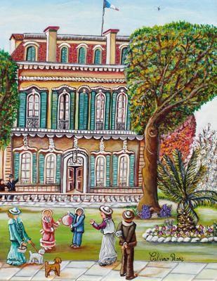 Rose Calvino - Maison bourgeoise Nice 1900