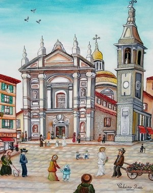 Rose Calvino - Cathedrale sainte reparate( nice