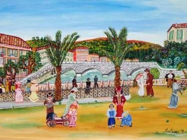 Quai des palmiers Nice 1900