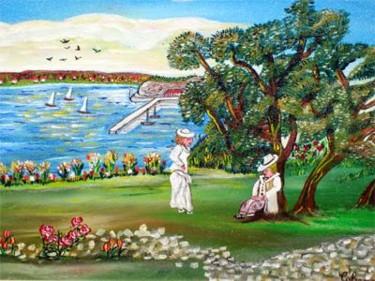 Promenade  vue port de nice 1900