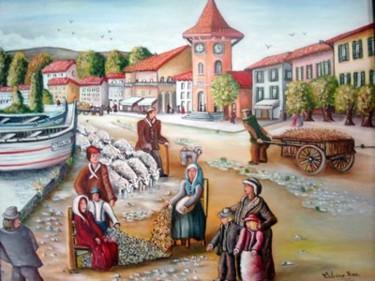 La transumance au Cros de Cagnes .(1900)