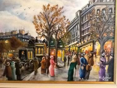 Paris 1900 (place haussmann) le printemps