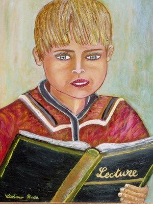 Rose Calvino - la lecture de morgan