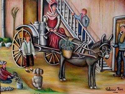 Rose Calvino - la livreuse de lait