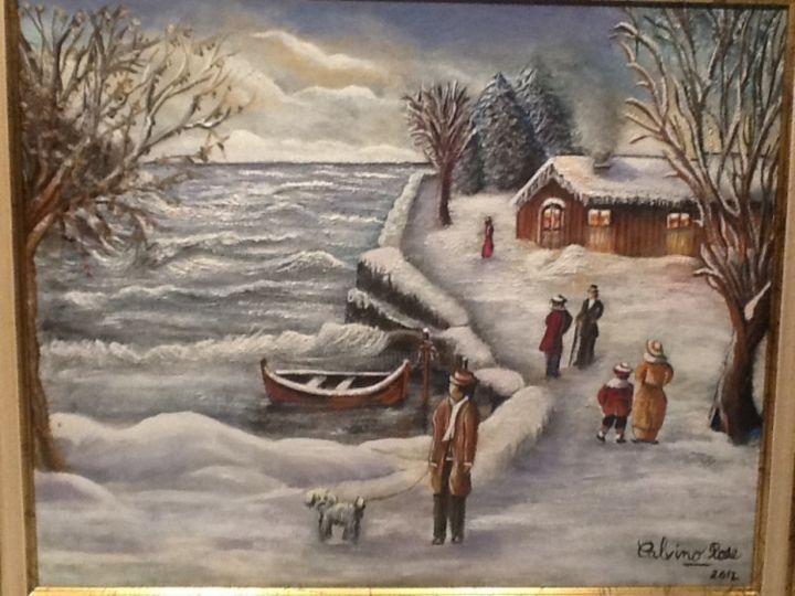 Rose Calvino - Journée hivernale